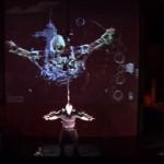 Stelarc (2000) Movatar performance still 2