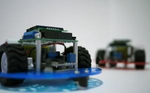 nervous robots, 2011, John Tonkin, custom electronics/software