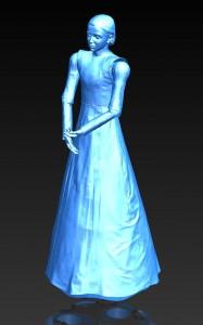 Mari Velonaki, Diamandini (2011), interactive robotic installation, dimensions variable